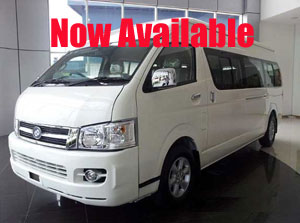 new van available